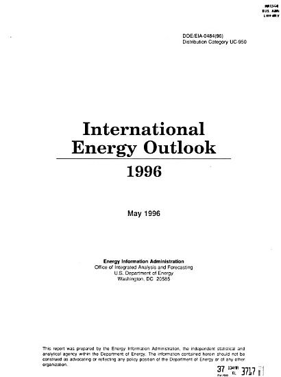 International Energy Outlook PDF
