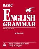 Basic English Grammar Workbook B with Answer Key PDF
