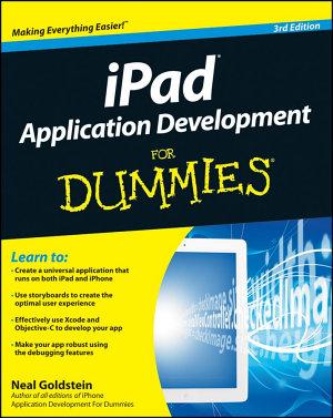 IPad Application Development For Dummies PDF