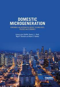 Domestic Microgeneration