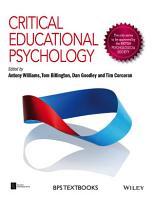 Critical Educational Psychology PDF