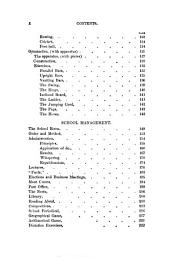 School Amusements; Or, How to Make the School Interesting: Embracing Simple Rules for Military and Gymnastic Exercises, and Hints Upon the General Management of the School Room