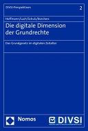 Die digitale Dimension der Grundrechte PDF