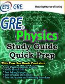 GRE Physics Study Guide PDF