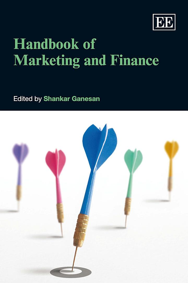 Handbook of Marketing and Finance