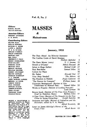 Masses   Mainstream PDF