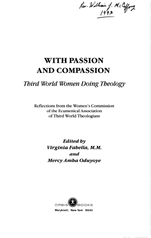 With Passion and Compassion