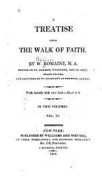 A Treatise Upon The Walk Of Faith Book PDF