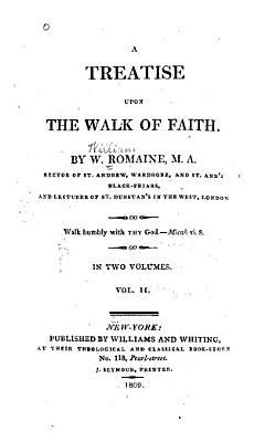A Treatise Upon the Walk of Faith