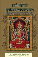 Sree Lalita Sahasranama PDF