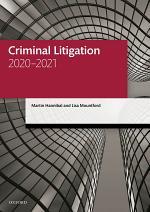 Criminal Litigation 2020-2021