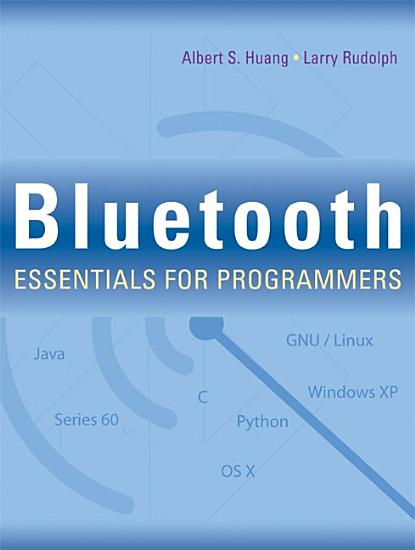 Bluetooth Essentials for Programmers PDF