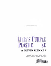 Lilly s Purple Plastic Purse