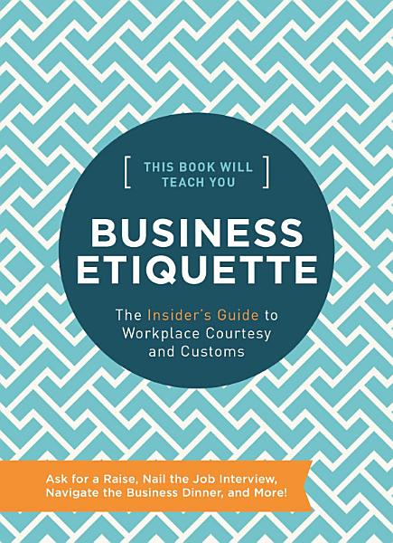 Download This Book Will Teach You Business Etiquette Book