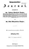 Dinglers polytechnisches journal PDF