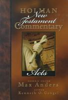 Holman New Testament Commentary   Acts PDF