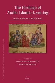The Heritage of Arabo Islamic Learning PDF