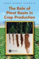 The Role of Plant Roots in Crop Production PDF