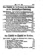 Der Koran, oder insgemein so genannte Alcoran des Mohammeds, aus dem arab. orig. in das engl. übers., und mit Erklärungs-Noten, wie auch einer vorläuffigen Einleitung von G. Sale, ins teutsche verdollmetschet von T. Arnold