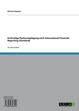 Erstmalige Rechnungslegung nach International Financial Reporting Standards PDF