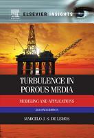 Turbulence in Porous Media PDF