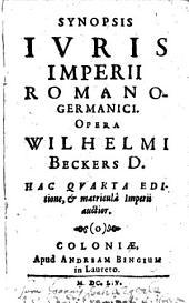 Synopsis iuris Imperii Romano-Germanici