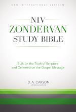The NIV Zondervan Study Bible, eBook