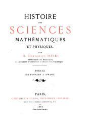 De Fourier à Arago. 1887