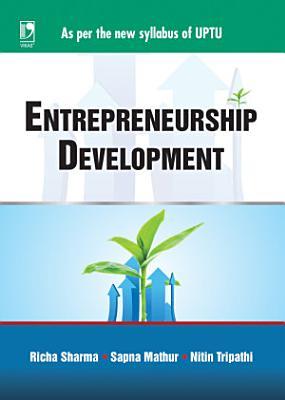 Entrepreneurship Development For Uptu Sem Vii