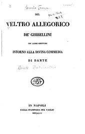 Del veltro allegorico de' Ghibellini