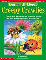 Learn All About Creepy Crawlies PDF