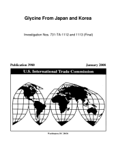Glycine from Japan and Korea, Invs. 731-TA-1112-1113 (Final)