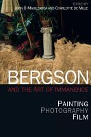 Bergson and Philosophy PDF