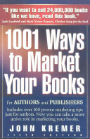 One Thousand and One Ways to Market Your Books PDF