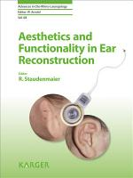 Aesthetics and Functionality in Ear Reconstruction PDF