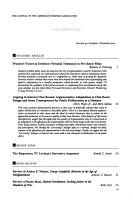Argumentation and Advocacy PDF