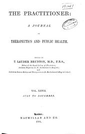 The Practitioner: Volume 27