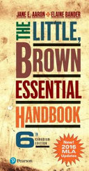 The Little  Brown Essential Handbook  Sixth Canadian Edition  MLA Update  PDF