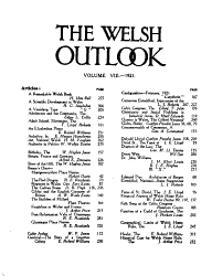 The Welsh Outlook PDF