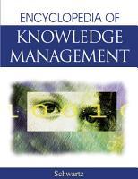 Encyclopedia of Knowledge Management PDF