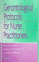 Gerontological Protocols for Nurse Practitioners PDF