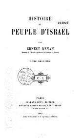 Histoire du peuple d'Israël: Volume2
