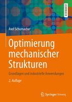Optimierung mechanischer Strukturen PDF