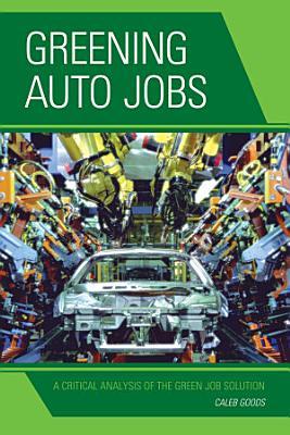 Greening Auto Jobs PDF
