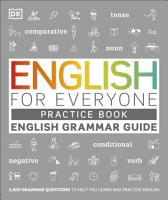 English for Everyone English Grammar Guide Practice Book PDF
