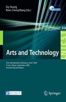 Arts and Technology PDF
