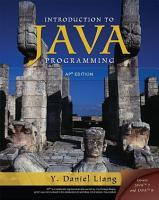 Intro to Programming Java Programming  AP Version PDF
