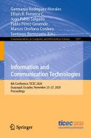 Information and Communication Technologies PDF