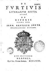 De Furtivis Literarum notis, vulgo de Ziferis libri IIII