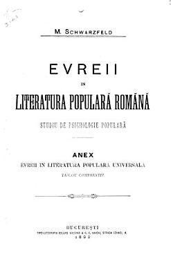 Evreii in literatura popular   rom  n   PDF